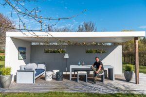 Flexobject polyester tuinoverkapping