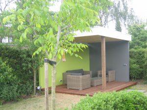 Moderne tuinoverkapping
